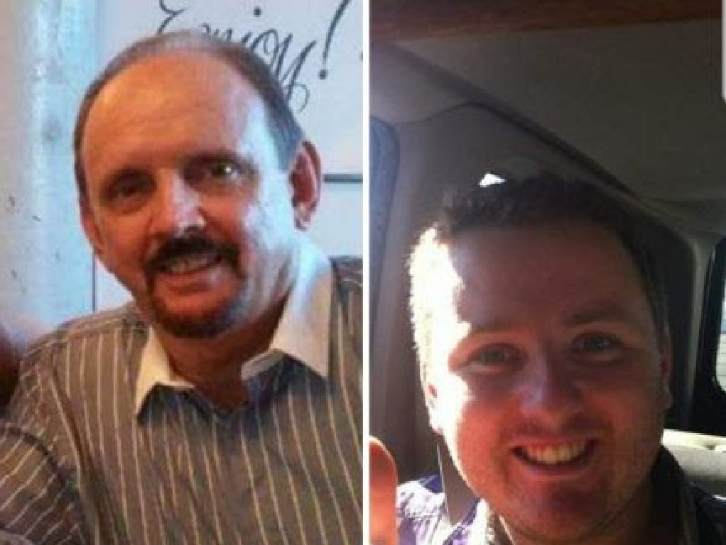 Bruce (left) and Brett Jenkins are sought by police.