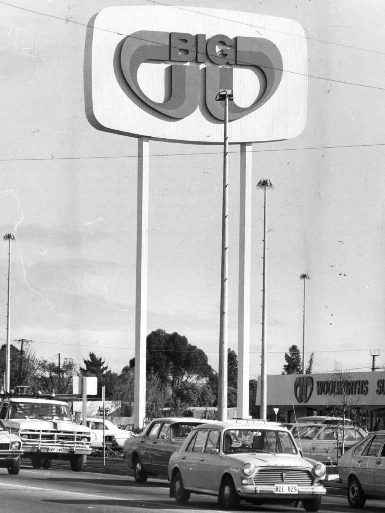 A Big W store in 1978.