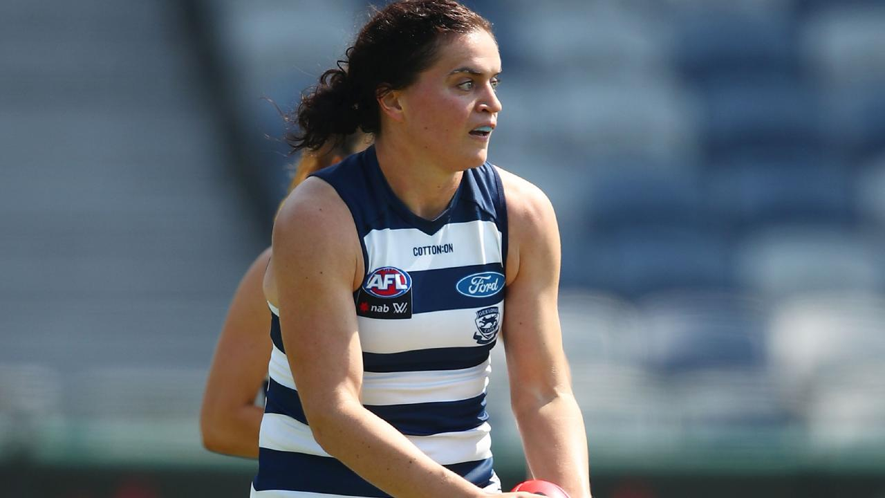 Meg McDonald repaid the faith Geelong showed in her this season. Picture: Getty