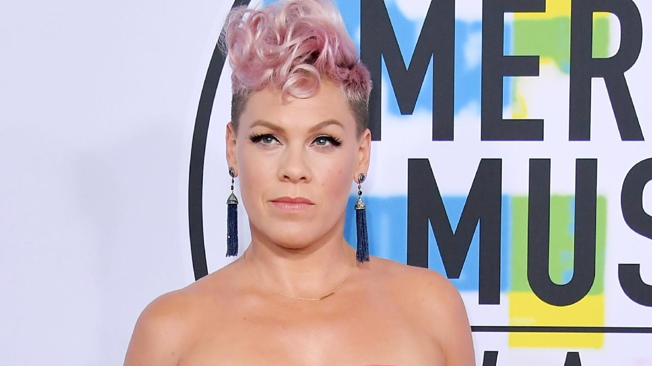 P!NK has angrily lashed out at cruel online trolls. Picture: Getty Images