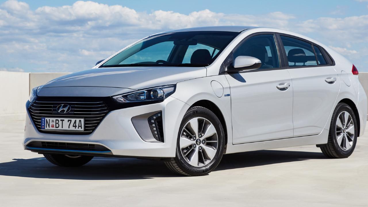 The Hyundai IONIQ.