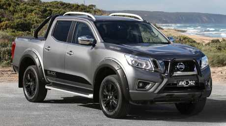 Sticking point: Nissan Navara Black Edition