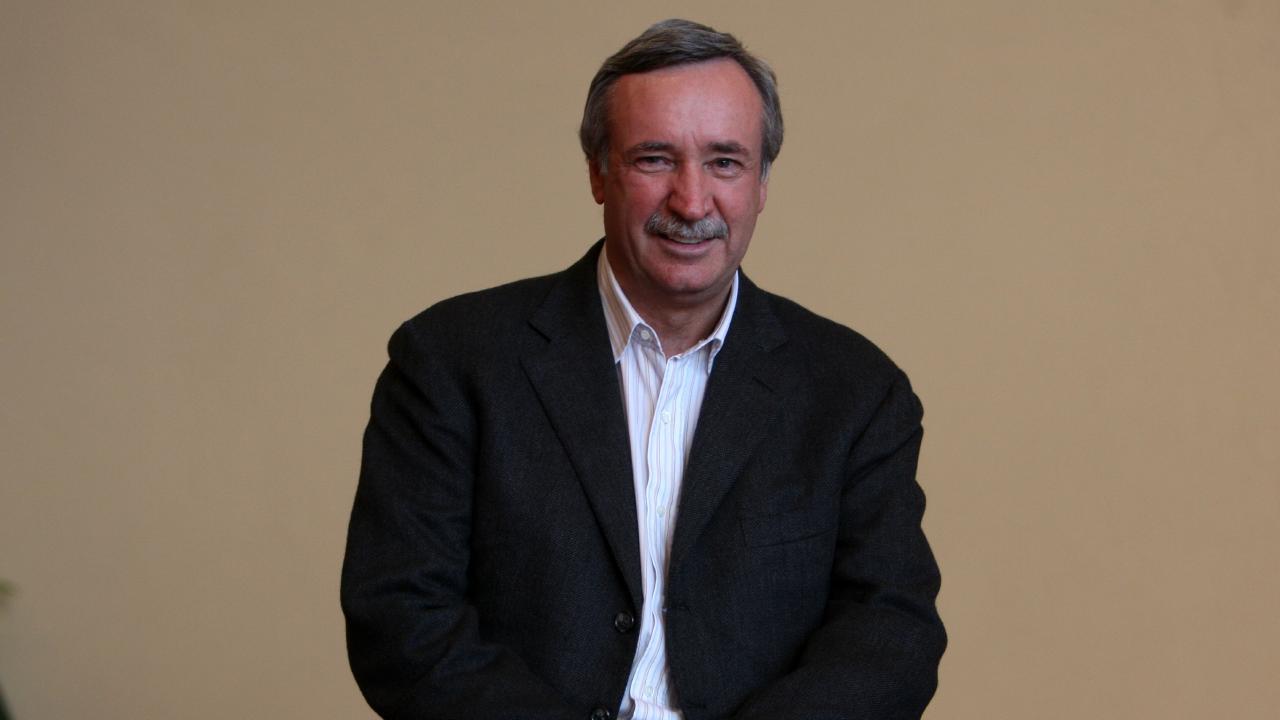 Mining magnate Ken Talbot.