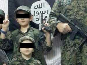 Notorious terror children located