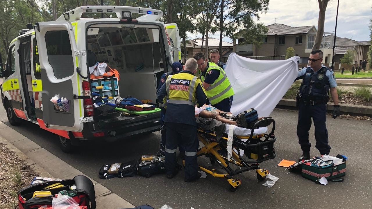 A man, 71, in a critical condition after being hit by a car in The Ponds.
