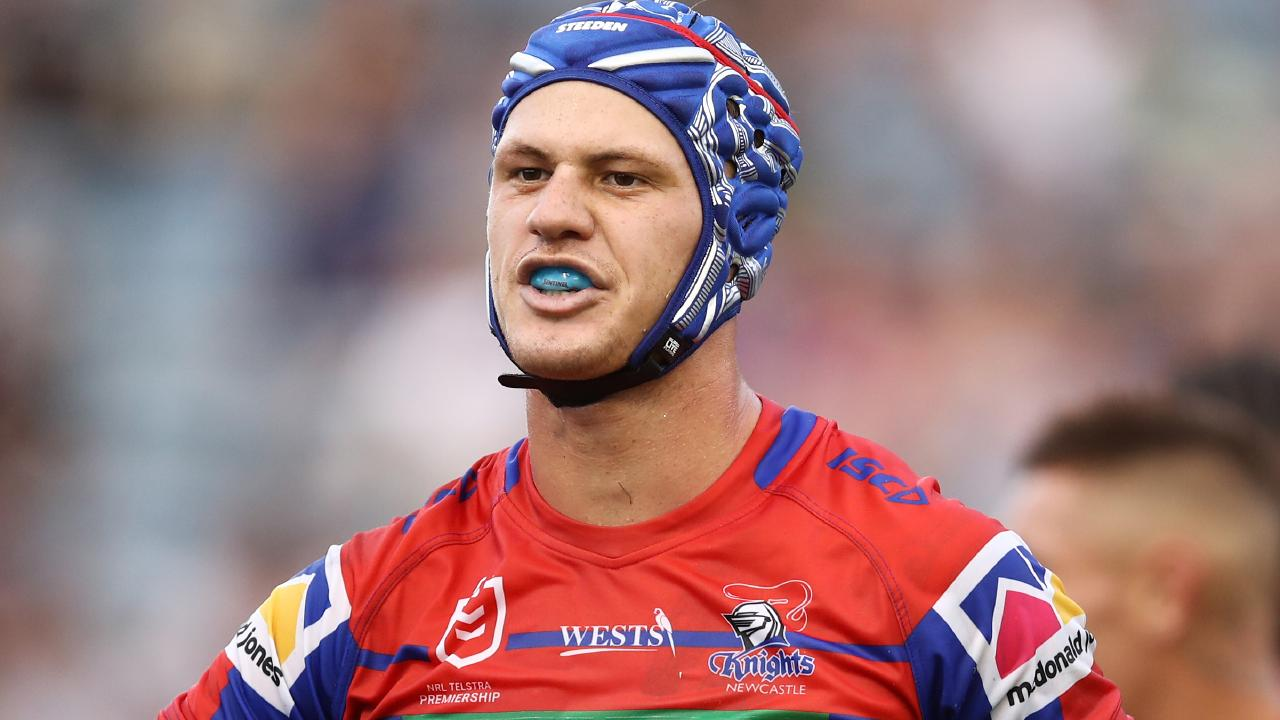 Kalyn Ponga has struggled so far since his switch to five-eighth. Picture: AAP