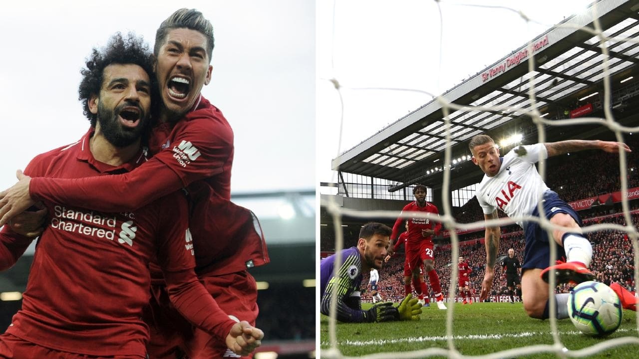 A 90th minute own-goal handed Liverpool a crucial Premier League win over Spurs
