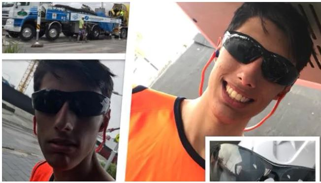 Christopher Cassaniti who died after scaffolding fell on him in Sydney. Pictures: Facebook