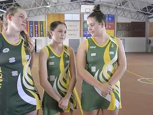 Chanel girls talk netball