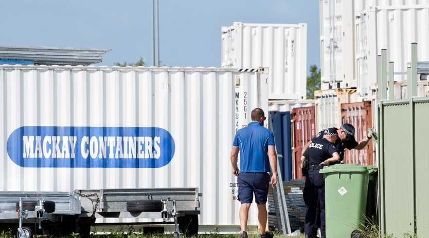 Man dies in shipping container fire in North Mackay