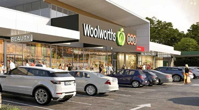 A new Woolworths and BWS have been prosed for 91-93 Raceview St, Raceview.
