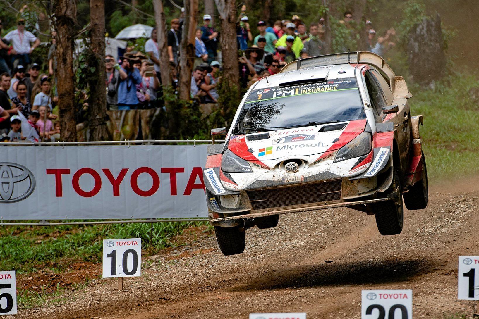 2018 WRC Kennards Hire Rally Australia final day Sherwood Forest stage at NSW Rally Park. Winner of the 2018 Rally in Coffs ws Jari-Matti Latvala . 18 NOV 2018. 18 NOV 2018