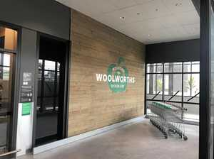 Giveaways, specials at grand opening of new Woolworths store