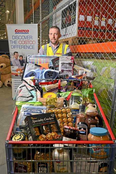Costco Ipswich Warehouse Manager, Nick Weller.