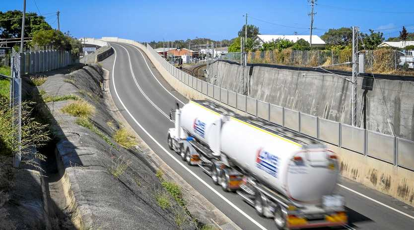 WORK IN PROGRESS: Completed in 2005, stage one of Port Access Rd stretches from Port Central to Glenlyon Rd. The Queensland Government funded the $15 million investment.