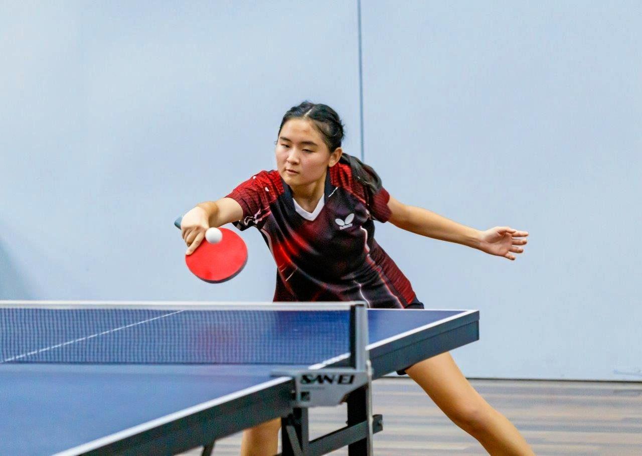 Bundaberg Rebecca Tran competes at the Bundaberg Open. She claimed the women's open title.