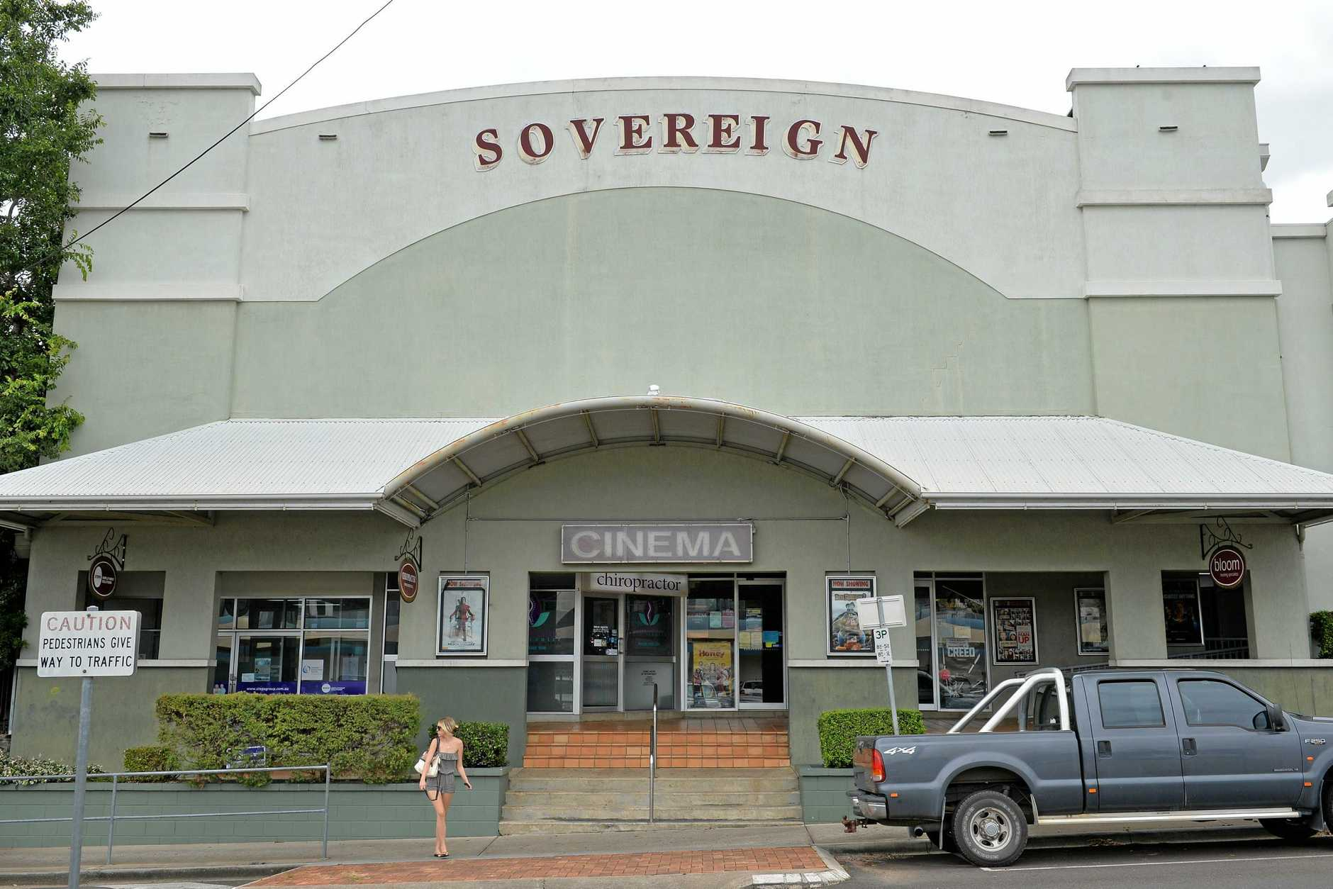 Sovereign cinema building, Monkland Street, Gympie. December 1, 2015.Photo Patrick Woods / Gympie Times