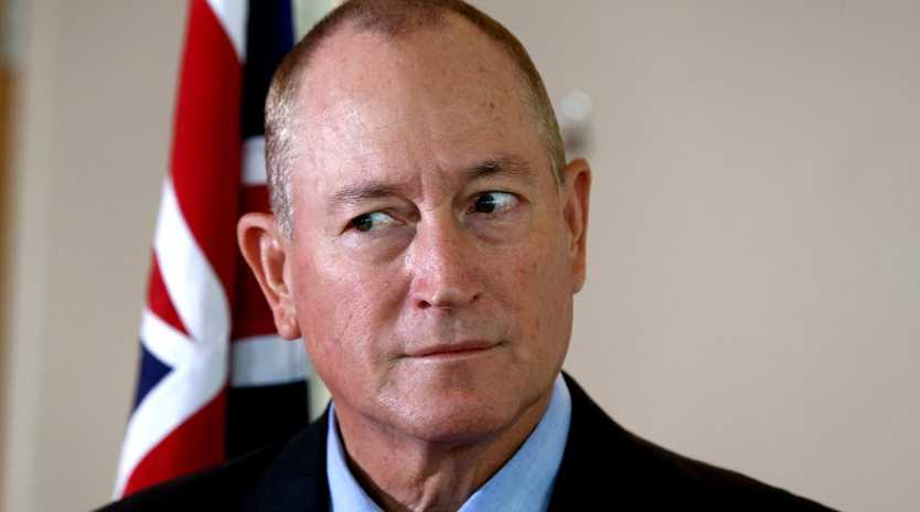 Queensland Senator Fraser Anning faces censure in the Senate. Picture: AAP