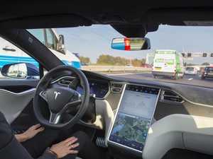 Simple trick fools Tesla's autopilot