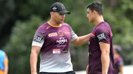 Broncos coach Anthony Seibold has been impressed by Staggs in training. Image: AAP Image/Darren England