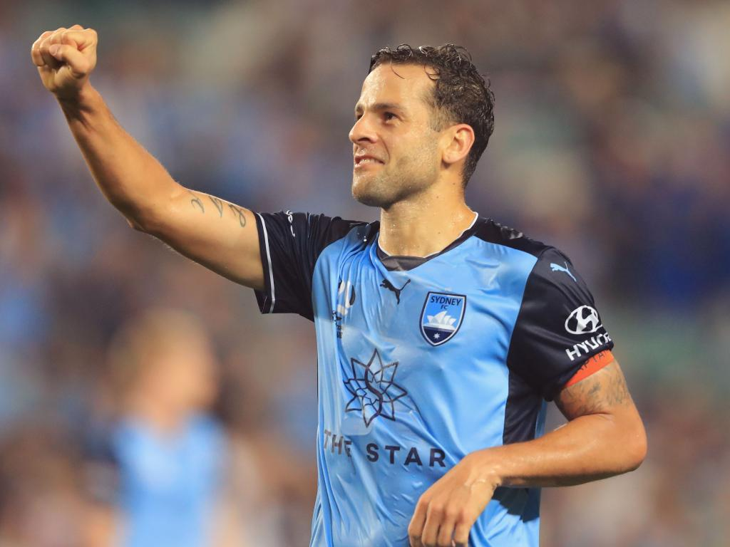 Bobo scored 27 goals for Sydney FC last season. Picture: Getty Images