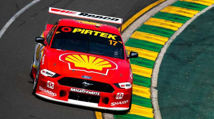 The Ford Mustangs are being altered to bring them back to the field after a hot start to 2019. Picture: Getty Images