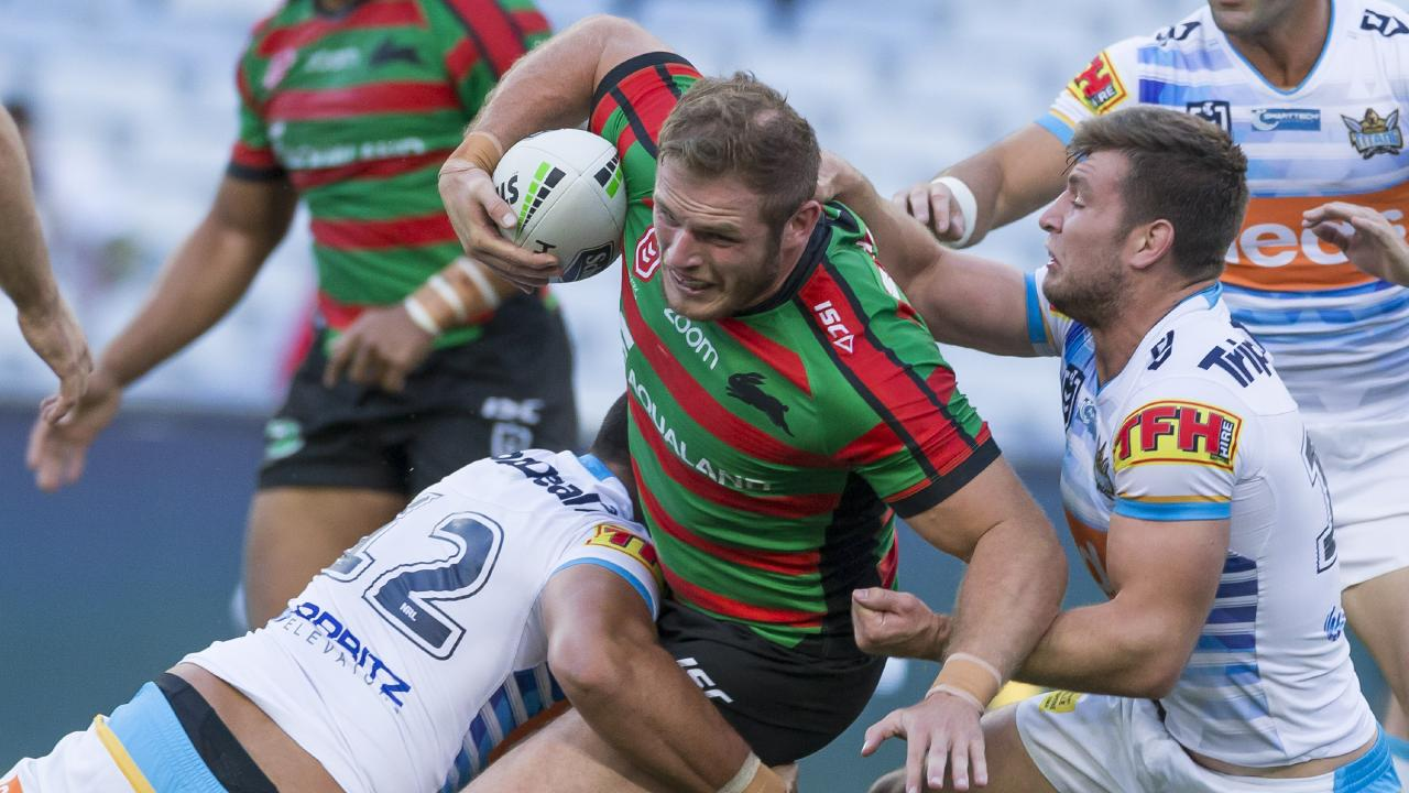 George Burgess is back! The massive prop returns from suspension to face Manly. Picture: AAP