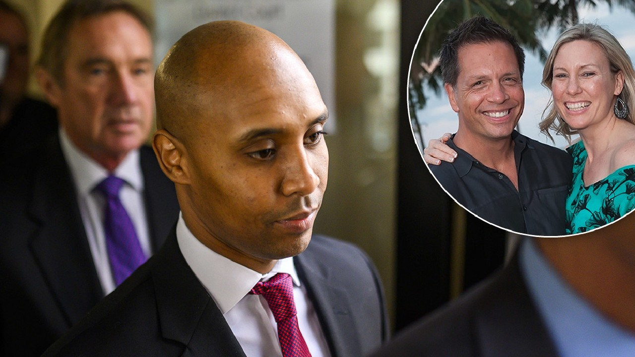 Mohamed Noor will face court for the murder of Justine Damond, pictured with her fiance Don. Picture: Supplied
