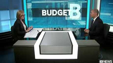 Leigh Sales interviewed Treasurer Josh Frydenberg after he handed down his first budget.