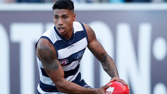 Geelong star Tim Kelly.