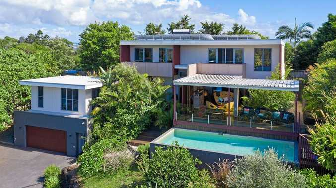 UNIQUE: This stunning four bedroom, four bathroom Lennox Head home at 16 Warrawee Drive is up for sale.