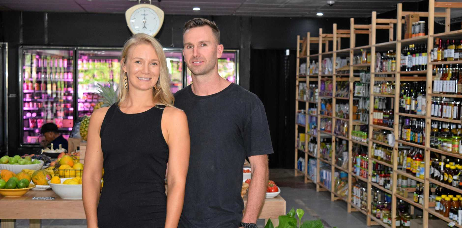 ORGANIC AND FRESH: Sunshine Coast's newest health food grocer will officially open their doors next Friday with 10 businesses coming to do free taste testing.