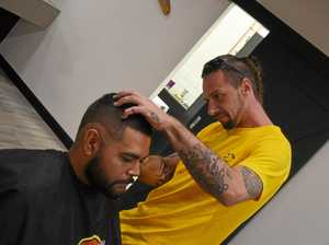 Barber brings sharp skills to the chair