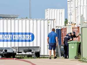Man charged after shipping container explosion death