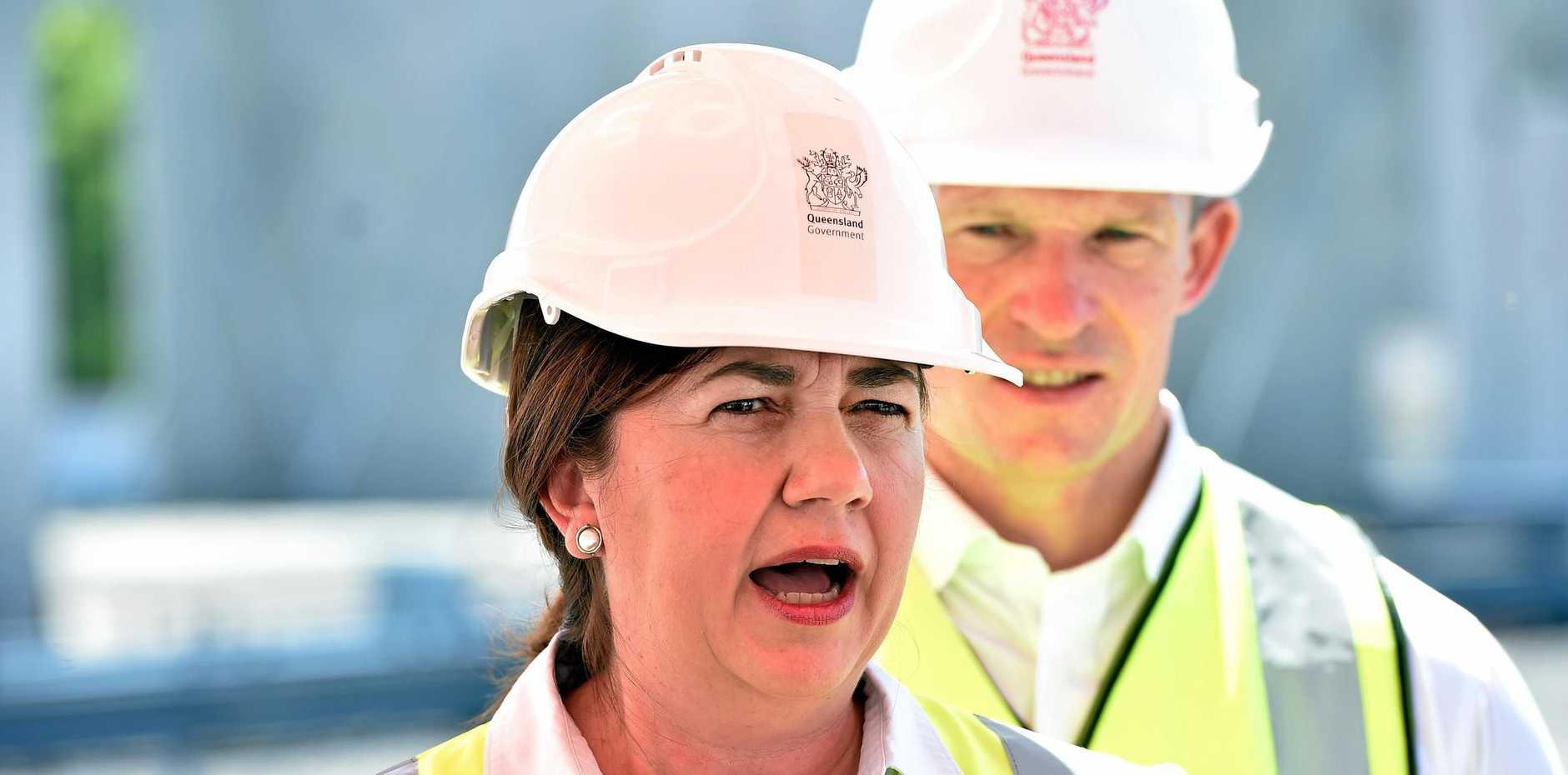 Queensland Premier defends Townsville MPs over Adani