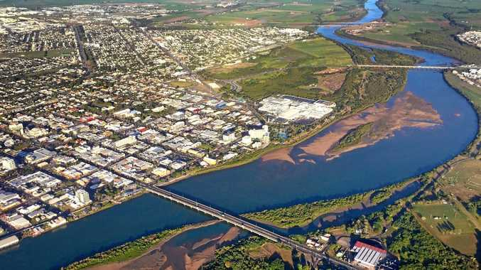 PANORAMIC: Aerial view of Mackay.