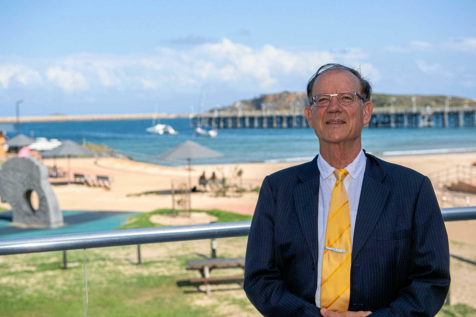 Palmer party candidate for cowper Lex Stewart. 13  MAR  2018