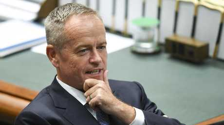 Opposition Leader Bill Shorten is expected to double down on his call for a living wage in his Budget-in-reply speech. Picture: AAP/Lukas Coch