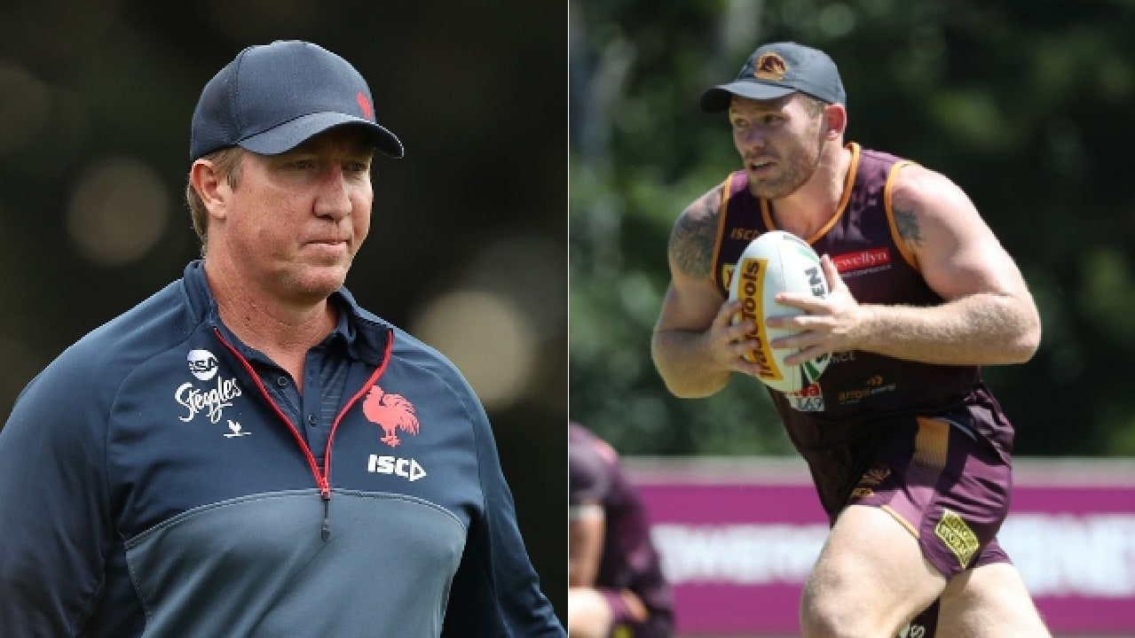 Matt Lodge credited Trent Robinson for his NRL lifeline.