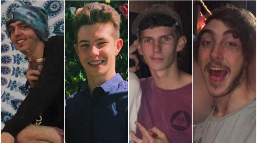 Shawn Woods, 18,  Braydan Carter-Mathews, 19, Ryan Beckman, 19, and Tom Breen, 19, have all lost their lives following the crash.