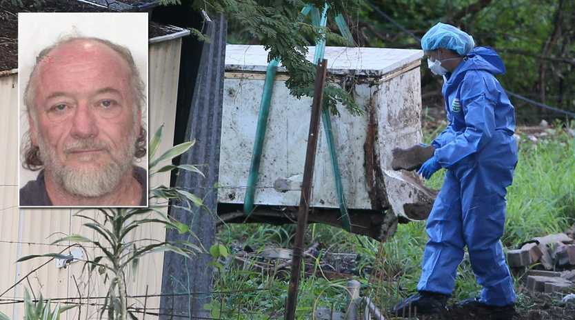 Remains believed to be those of former Bremer and Centenary Stats High science teacher David Thornton were found this week in a freezer buried in his backyard at Goodna.