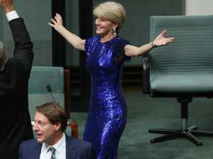 Julie Bishop steals the Budget show