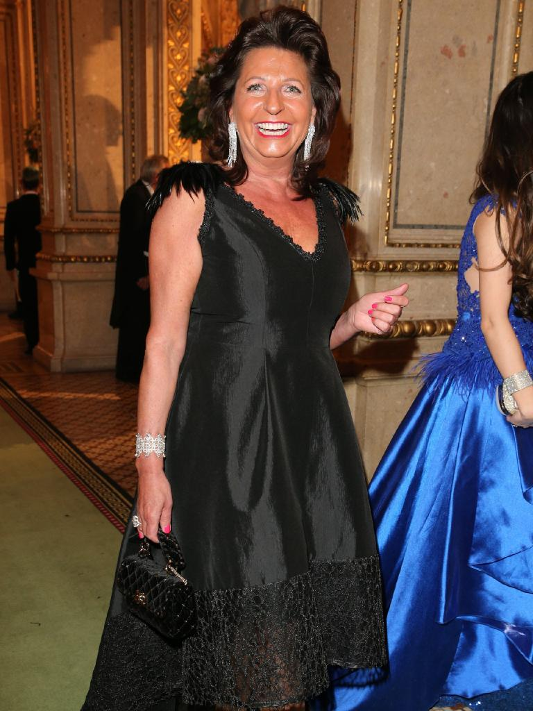 Babette Albrecht often appears at lavish events, unlike the rest of her discreet family members. Picture: Gisela Schober/Getty Images