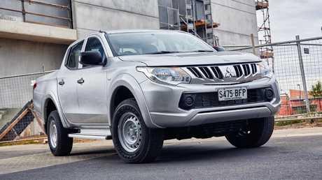 Cars for small businesses under $30,000: Mitsubishi Triton