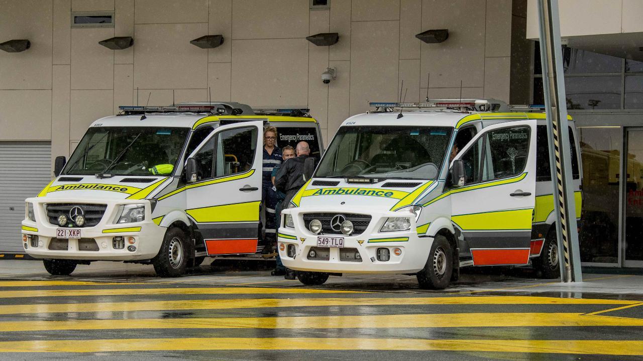 Ambulances ramping at a Gold Coast holiday
