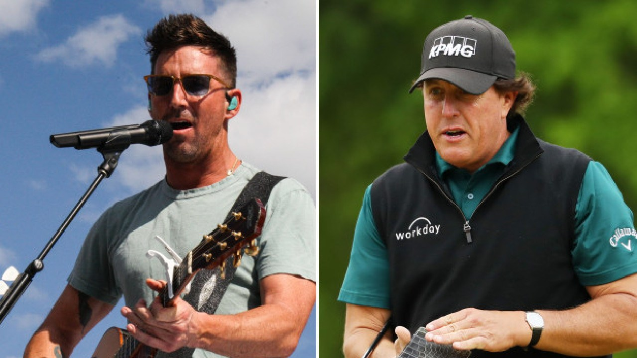 Jake Owen copped a brutal putdown from Phil Mickelson.