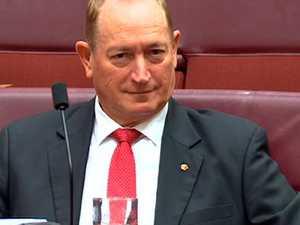 'Pathetic man': Anning humiliated in Senate