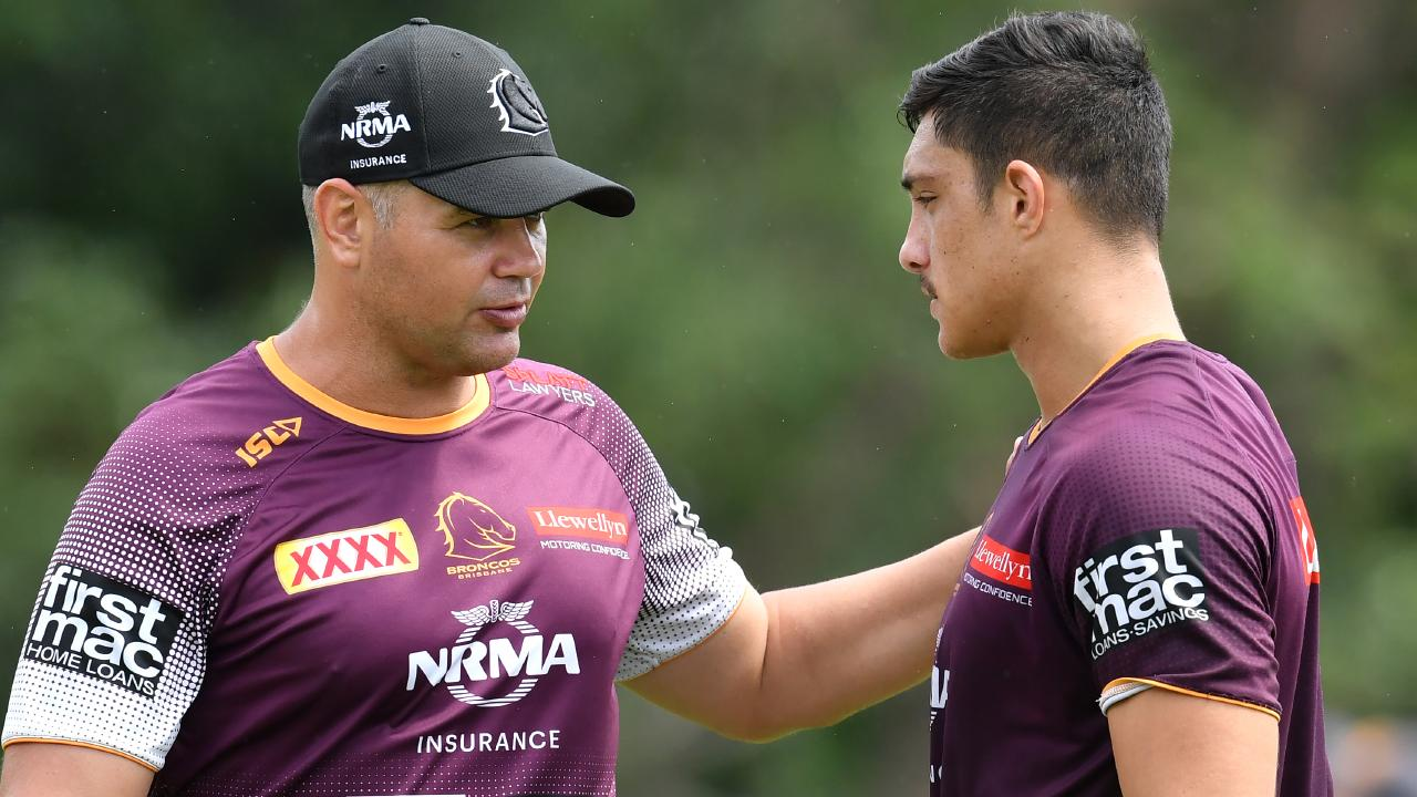 Seibold is putting his faith in his young players. Image: AAP Image/Darren England