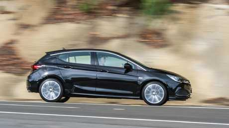 Cars for small businesses under $30,000: Holden Astra RS-V.