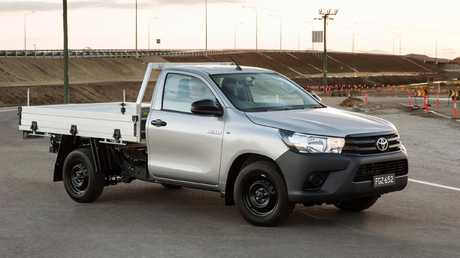 Cars for small businesses under $30,000: Toyota HiLux 4x2 Workmate single cab-chassis